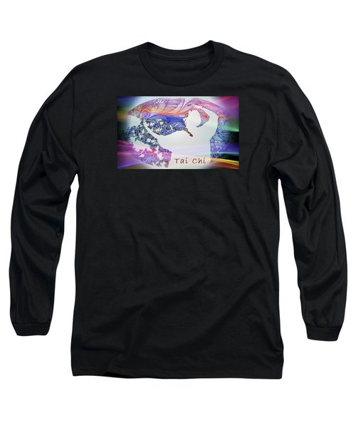 Rainbow Dance Long Sleeve T-Shirt by Dorothy Berry-Lound