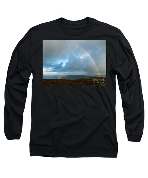 Rainbow Over Porlock Hill Long Sleeve T-Shirt