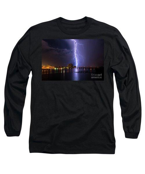 Raining Bolts Long Sleeve T-Shirt
