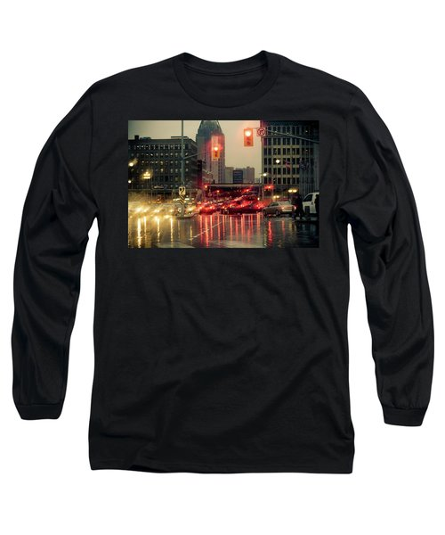Rainy Day In Ottawa Long Sleeve T-Shirt