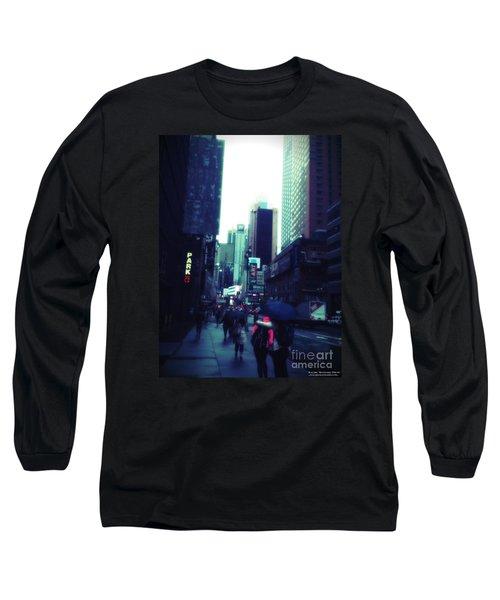 Rainy Day New York City Long Sleeve T-Shirt