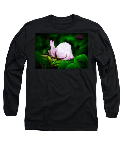 Rainy Day Rose Number 2 Long Sleeve T-Shirt