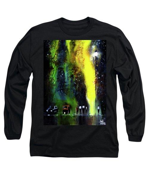 Rainy Evening Long Sleeve T-Shirt