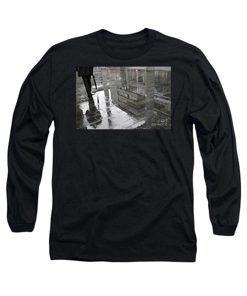 Rainy Morning In Mainz Long Sleeve T-Shirt