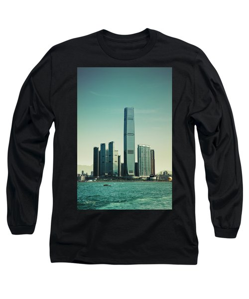 Ramparts Of Commerce Long Sleeve T-Shirt by Joseph Westrupp