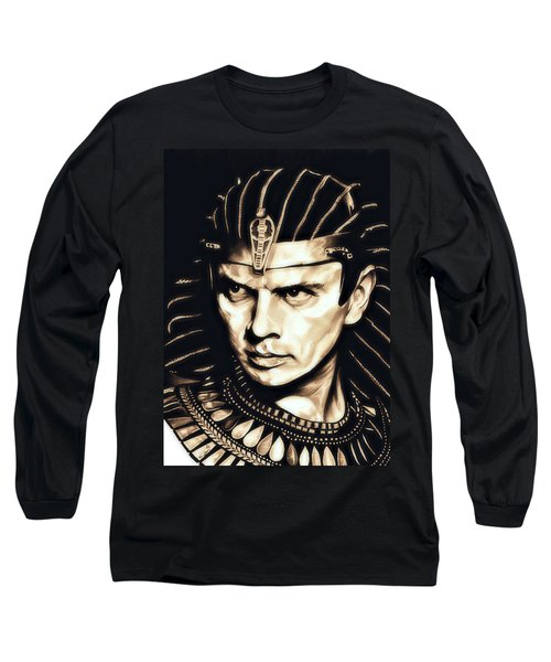 Ramses II Long Sleeve T-Shirt by Fred Larucci