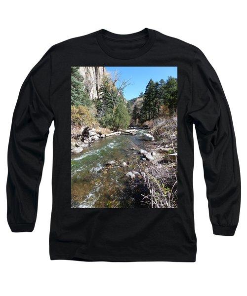 Rapid Stream Long Sleeve T-Shirt by Constance DRESCHER