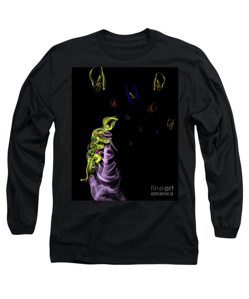 Rapunzel's Magic Flower Braid Long Sleeve T-Shirt