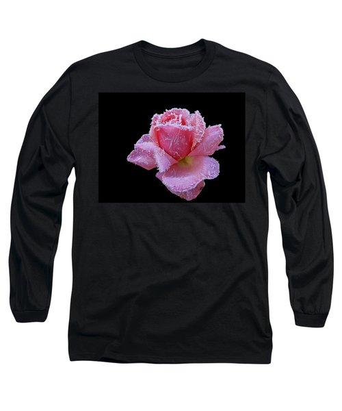 Rare Winter Rose Long Sleeve T-Shirt