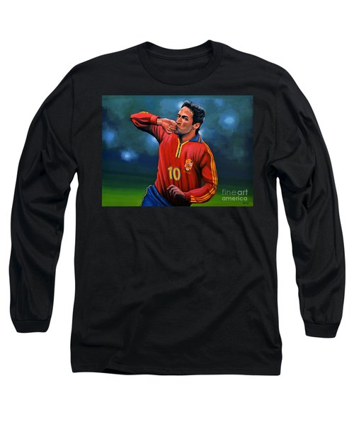 Raul Gonzalez Blanco Long Sleeve T-Shirt by Paul Meijering