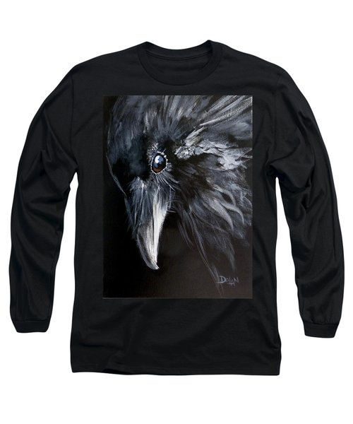 Raven Attentive Long Sleeve T-Shirt