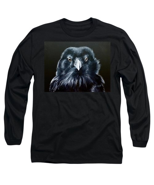 Raven Fluff Long Sleeve T-Shirt
