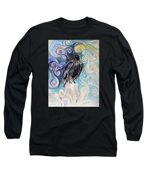 Raven Magic Long Sleeve T-Shirt