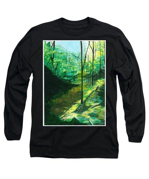 Raven Rocks 3 Long Sleeve T-Shirt