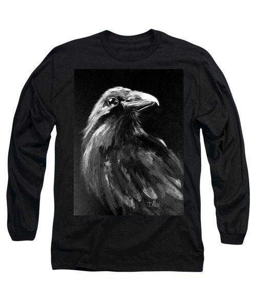 Raven Watching Long Sleeve T-Shirt