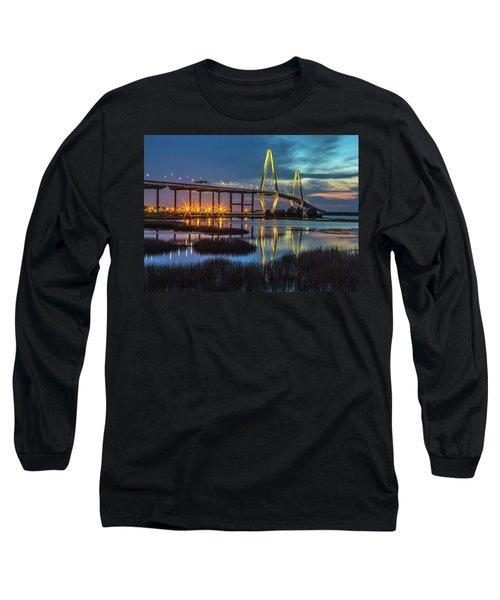 Ravenel Bridge Reflection Long Sleeve T-Shirt