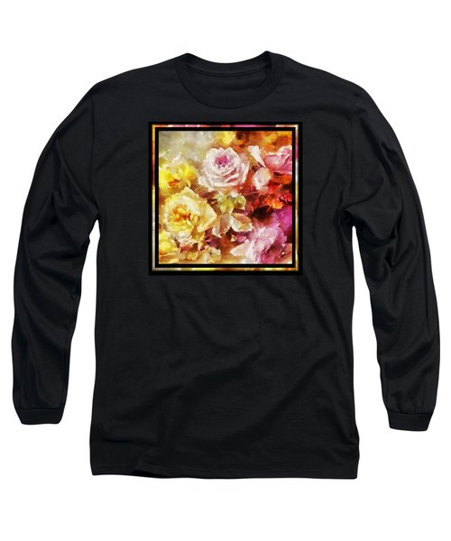Ravishing Roses Long Sleeve T-Shirt by Charmaine Zoe