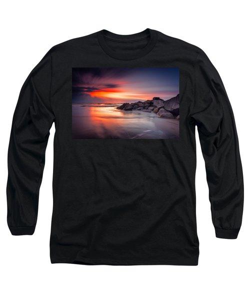 Ray Of Hope Long Sleeve T-Shirt by Edward Kreis