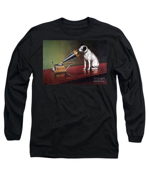 Rca Victor Trademark - To License For Professional Use Visit Granger.com Long Sleeve T-Shirt