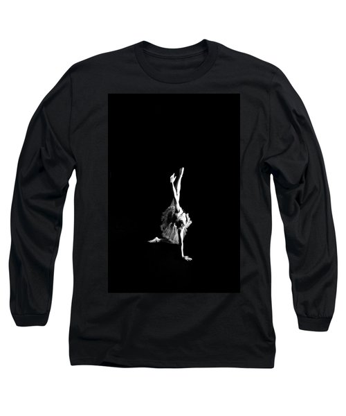 Reaching Ballerina Long Sleeve T-Shirt