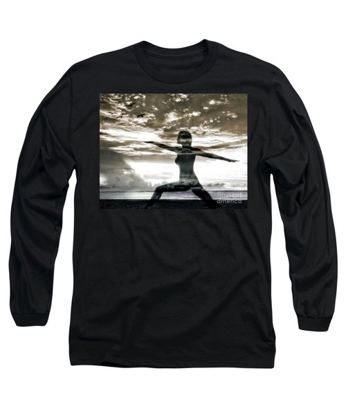 Reaching For Sunset Long Sleeve T-Shirt