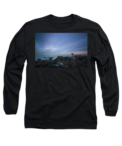 Reading Lets You Mind Travel Through Time  Long Sleeve T-Shirt