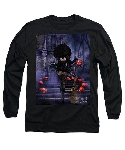Ready Boys Halloween Witch Long Sleeve T-Shirt