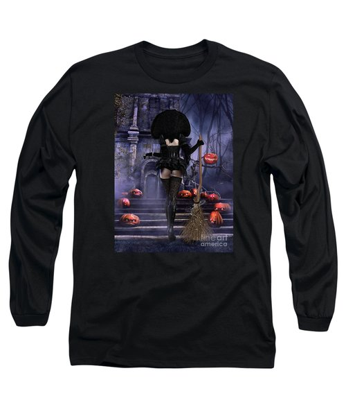 Long Sleeve T-Shirt featuring the digital art Ready Boys by Shanina Conway