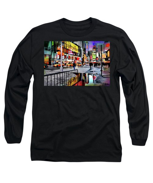 Long Sleeve T-Shirt featuring the photograph Ready Or Not by Diana Angstadt