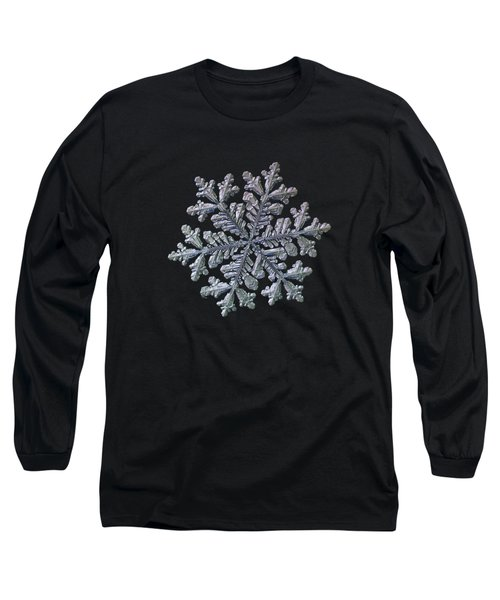 Real Snowflake - Hyperion Black Long Sleeve T-Shirt