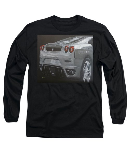 Rear Ferrari F430 Long Sleeve T-Shirt