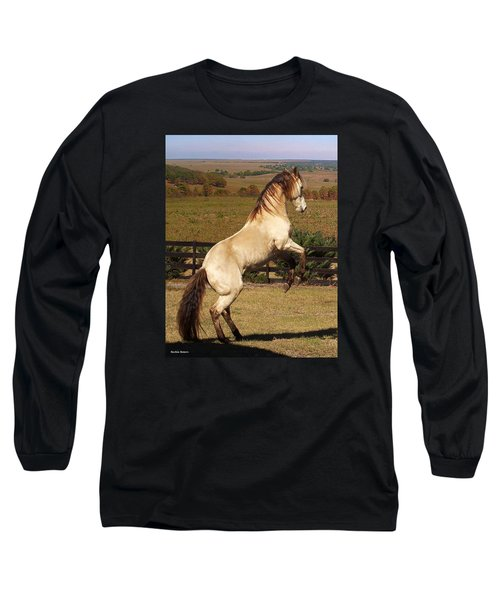 Long Sleeve T-Shirt featuring the photograph Wild At Heart by Barbie Batson