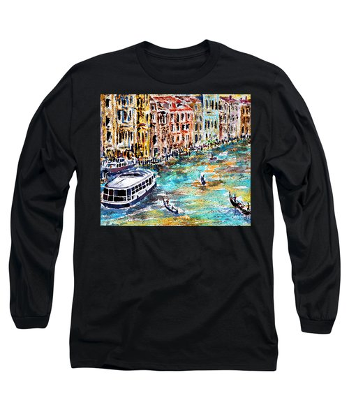 Recalling Venice 01 Long Sleeve T-Shirt