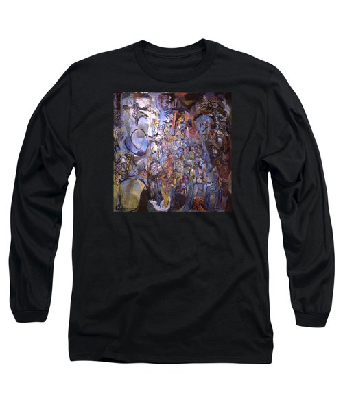 Recognition Of Baselitz, Schnabel, Langlais Long Sleeve T-Shirt