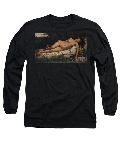 Recumbent Nymph Long Sleeve T-Shirt
