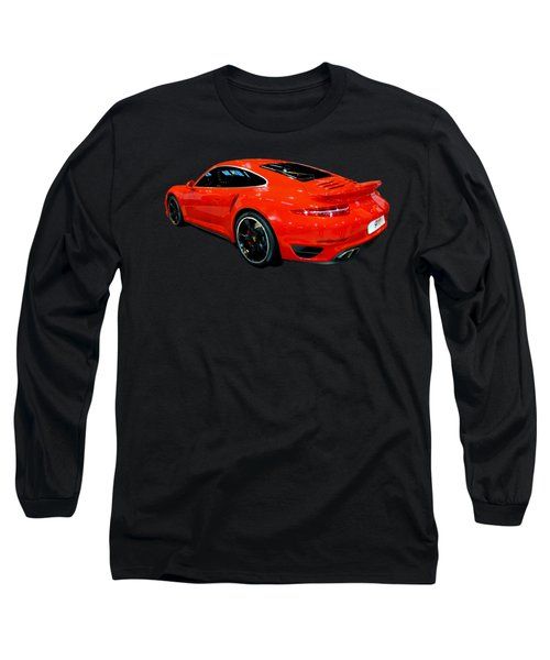 Red 911 Long Sleeve T-Shirt