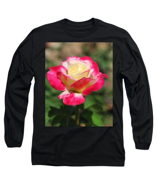Red And Yellow Rose Long Sleeve T-Shirt