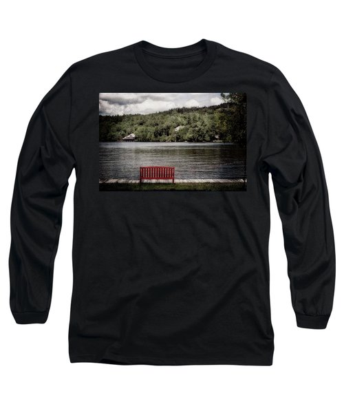 Red Bench Long Sleeve T-Shirt