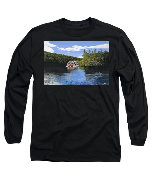 Red Boathouse Long Sleeve T-Shirt