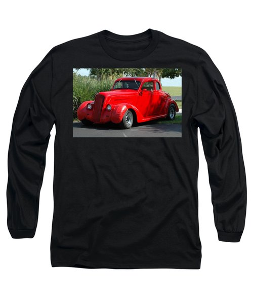 Red Car Long Sleeve T-Shirt