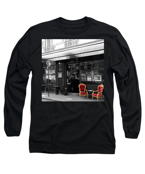 Red Chairs Long Sleeve T-Shirt