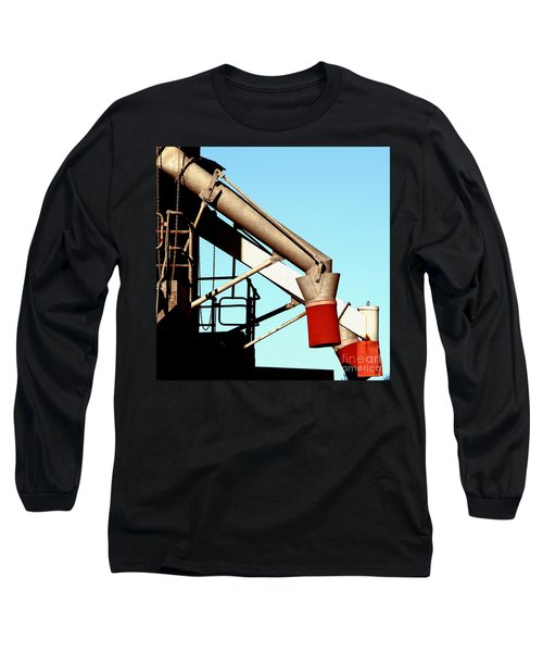 Long Sleeve T-Shirt featuring the photograph Red Chutes by Stephen Mitchell