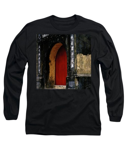 Red Doorway Long Sleeve T-Shirt