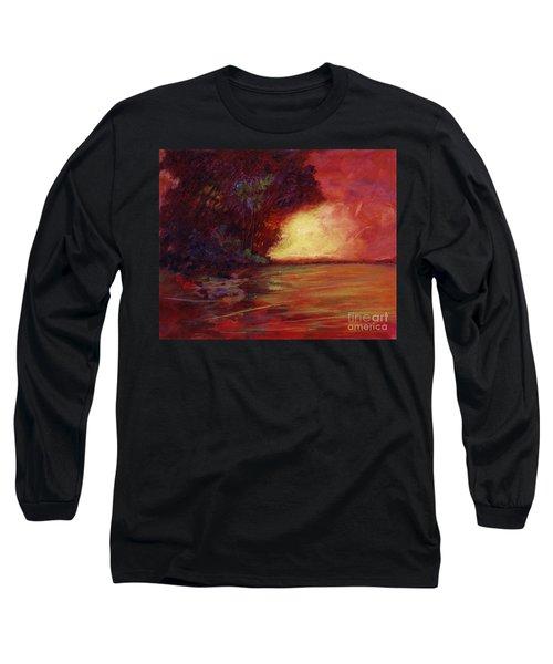 Red Dusk Long Sleeve T-Shirt