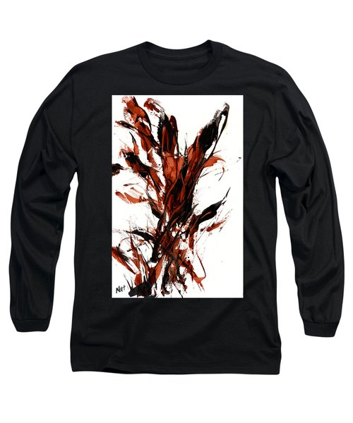 Red Flame 66.121410 Long Sleeve T-Shirt by Kris Haas