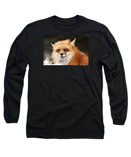 Red Fox Long Sleeve T-Shirt