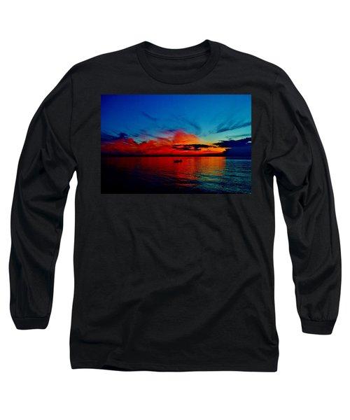 Red Horizon Long Sleeve T-Shirt