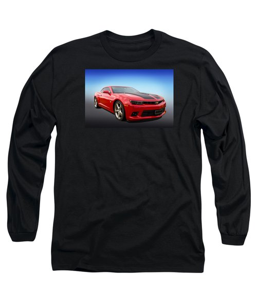 Red Hot Camaro Long Sleeve T-Shirt by Keith Hawley