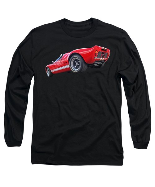 Red Hot Ford Gt 40 Long Sleeve T-Shirt