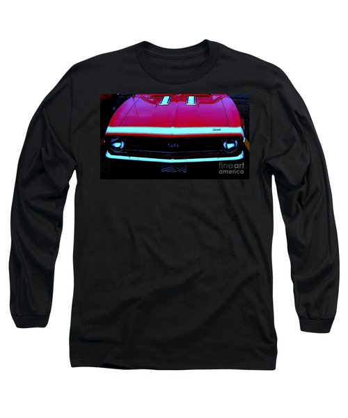 Long Sleeve T-Shirt featuring the photograph Red Hot Ss by Greg Moores